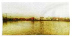 Salford Quays Hand Towel