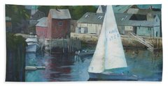 Saling In Rockport Ma Hand Towel