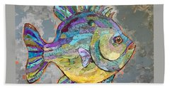Sally Sunfish Bath Towel