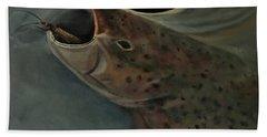 Salmon Flies Are Back Hand Towel