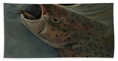 Salmon Flies Are Back Bath Towel