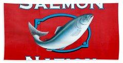 Salmon Nation Bath Towel