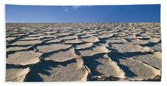 Salt Flats Death Valley National Park Bath Towel