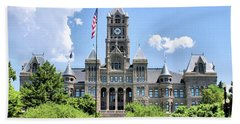 Salt Lake City County Building Bath Towel