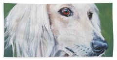 Saluki Sighthound Hand Towel