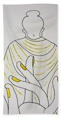 Salvation Bath Towel by Kruti Shah