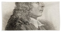 Salvator Rosa, 1615to 1673. Italian Bath Towel