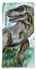 Salvatori Dinosaur Hand Towel