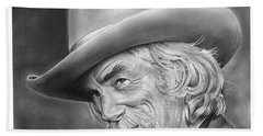 Sam Elliott Bath Towel