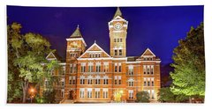 Samford Hall At Night Bath Towel