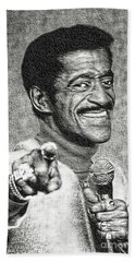 Sammy Davis Jr - Entertainer Bath Towel