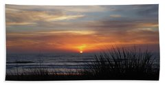 Samoa Dunes Sunset Bath Towel