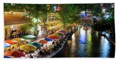 San Antonio River Walk 072716 Hand Towel