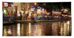 San Antonio River Walk 72516 Hand Towel