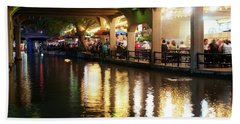 San Antonio River Walk V2 72516 Hand Towel
