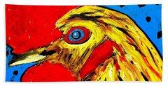 San Antonio Rooster Hand Towel