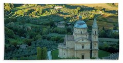 Bath Towel featuring the photograph San Biagio Church by Brian Jannsen