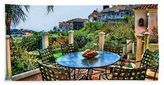 San Clemente Estate Patio Hand Towel