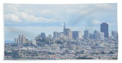Bath Towel featuring the photograph San Francisco by Alex King