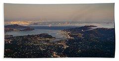 San Francisco Bay Area Hand Towel