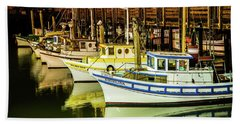 San Francisco Fisherman's Wharf Hand Towel
