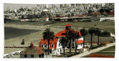 San Francisco Panorama 2015 Hand Towel