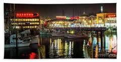 San Francisco's Fisherman's Wharf Hand Towel