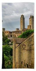 San Gimignano Hand Towel by Jean Haynes