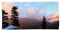 San Jacinto Mountains 2 - California Bath Towel