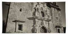 Hand Towel featuring the photograph San Jose Mission - San Antonio by Stephen Stookey