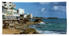 San Juan Bay In Puerto Rico Hand Towel
