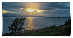 San Juan Island Sunset Hand Towel