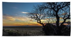 San Luis Valley Sunset - Colorado Hand Towel