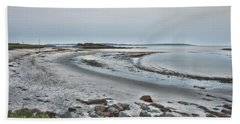 Sand Along The Shoreline Bath Towel