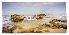 Sand And Rocks Bath Towel
