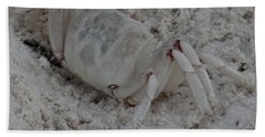 Sand Crab Hand Towel
