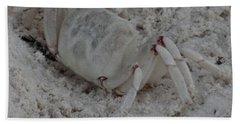 Sand Crab Bath Towel