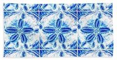 Sand Dollar Delight Pattern 3 Bath Towel