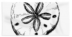 Sand Dollar Hand Towel