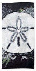 Sand Dollars Hand Towel by Scott and Dixie Wiley