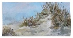 Sand Dunes And Salty Air Hand Towel