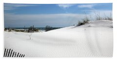 Bath Towel featuring the photograph Sand Dunes Dream by Marie Hicks