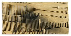 Sand Dunes Of The Outer Banks Bath Towel