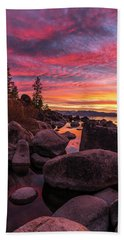 Sand Harbor Beach Bath Towel