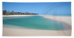 Sand Island Paradise Hand Towel