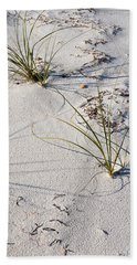 Sand Patterns Hand Towel by Jan Amiss Photography