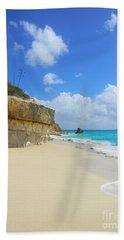 Sand Sea And Sky Bath Towel
