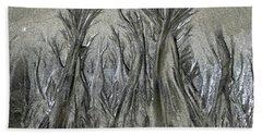 Sand Trees Bath Towel