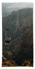 Sandia Peak Cable Car Bath Towel