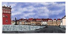 Sandomierz City Hand Towel